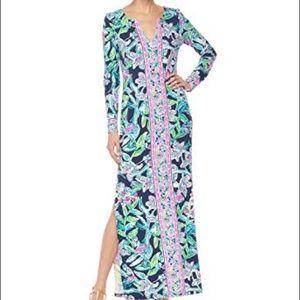 NWT 🏷 Lilly Pulitzer UPF Faye Maxi Dress